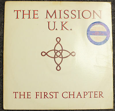 The Mission ( uk ) - The First Chapter (1987, Mercury ,832 732-1 Q-1 , US press)