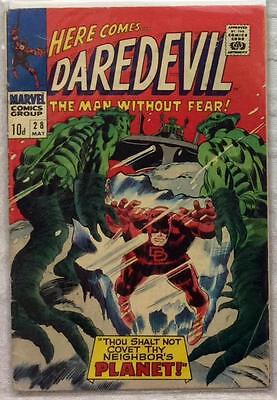 Daredevil #28 (1967 Marvel) Silver Age Rare Early VG+ condition for age.