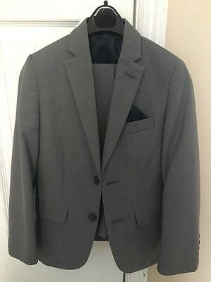 boys gray suit Izod Size 8 And 10pants