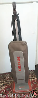Vintage ORECK XL Gold Upright Vacuum - Model U4160H2RPDC - Made in USA