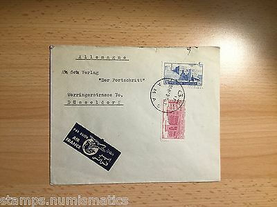 Syria 1953, Cover Damas to Germany