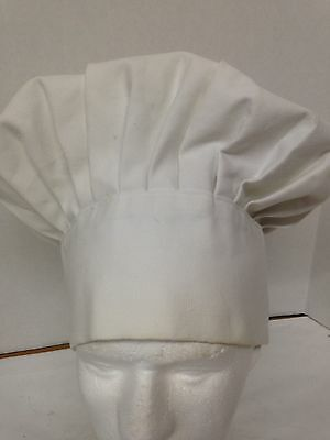 White Chefs Hat Adjustable Adult Catering Baker Kitchen By Now Design