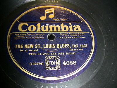 3/1 Ted Lewis - The New St. Louis Blues - My Mamma's in Town