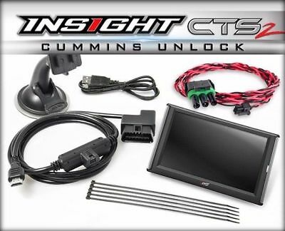 Edge Insight CTS2 Monitor & Unlock Cable For 2013-2017 Dodge 6.7L Cummins Diesel