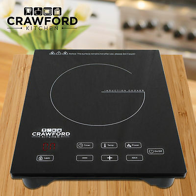 NEW Portable 1800W Induction Cooker Electric Cooktop Burner Countertop Home H
