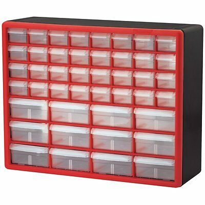Storage Cabinet 44 Drawer Plastic Bin Beads Fishing Bin Hardware Craft  Organizer