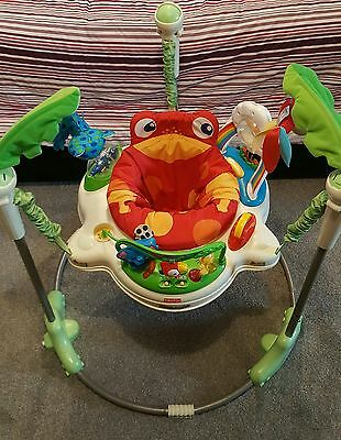 Rainforest Jumperoo - Fisher Price (Very good condition)