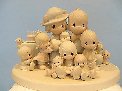 """Precious Moments """"god Bless Our Years Together"""" Figurine"""