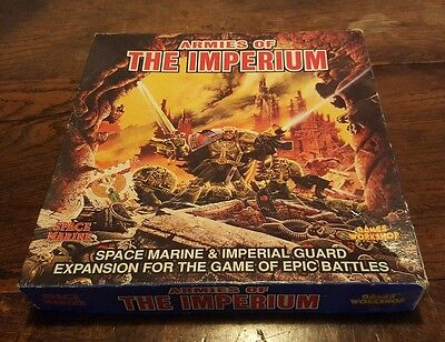 Warhammer Epic 40K Armies of the Imperium Expansion Box Set + extra cards