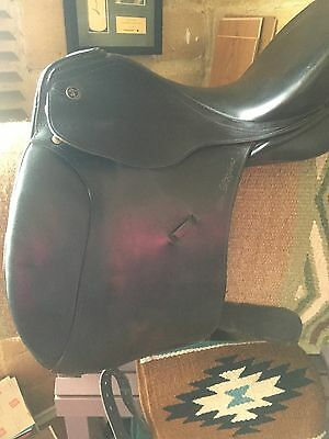"Kieffer Ulla Salzgeber ""Excellent"" Dressage Saddle 17.5 Inch"