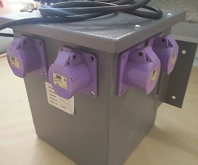 2KVA transformer with 4 x 24v outlets