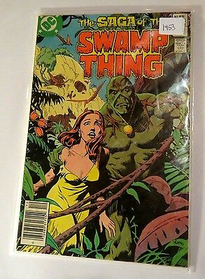 Swamp Thing #8 DC Bronze age Comic CB1453