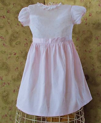 1950's Girl's Vintage Organdy  Dress With Camisole