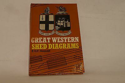 Ian Allan Great Western Shed Diagrams. E.F.G. Haswell