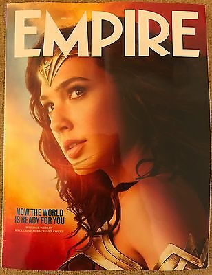 Empire Magazine April 2017 Wonder Woman Limited Edition Subscriber No.334