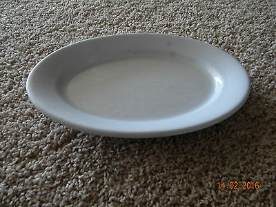 """Antique Mellor Taylor & Co,england Stone China Platter..8""""x 11 1/4""""..good Cond"""