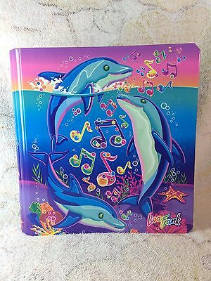 Lisa Frank Dolphins Binder Vintage Stickers Included Collectible Htf