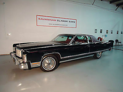 1976 Lincoln Continental 2 Door Coupe 1976 Lincoln Continental 2-Door 7.5L