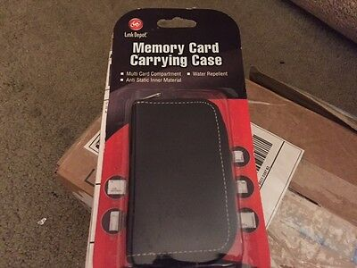 Link Depot Memory Card Carrying Case - Black New