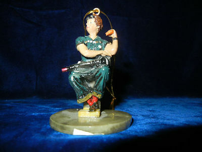 NORMAN ROCKWELL * ROSIE the RIVETER * CLASSIC ORNAMENT COLLECTION  * RARE *