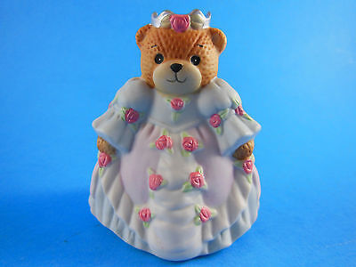 LUCY & ME Princess Cinderella in ball gown silver crown pink roses Vintage Korea