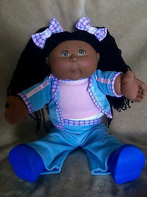 Cabbage Patch Play Along Kid African American - FULL ORIGINAL FASHION