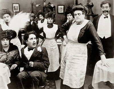 Tillie's Punctured Romance (1916) 16mm Silent Feature Comedy, Charles Chaplin
