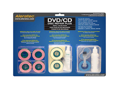 Aleratec Disc Repair Plus Refill Kit New