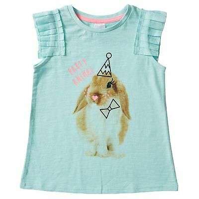 NEW Party Animal Frill Sleeve Top Kids