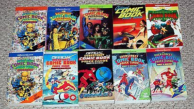 Overstreet Comic Book Price Guide 10pc Lot #20 21 22 23 24 24 25 26 27 29