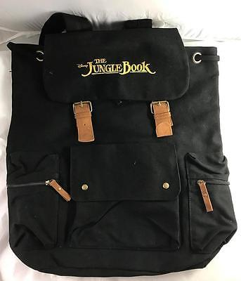NEW Disney The Jungle Book Backpack Black Bag