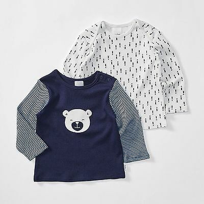 NEW Baby Bear 2 Pack Long Sleeve T-Shirts