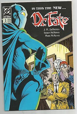 DOCTOR FATE 5 SIGNED BY MARK MCKENNA DC COMICS Eric Strauss & Linda