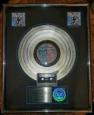 Hall & Oats-Big Bam Boom-Rca-One Of A Kind-Framed-Rare-Real Deal-Platinum-Lp-Ex