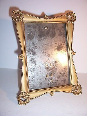 ANTIQUE DECORATIVE PRESSED VICTORIAN TIN PHOTO FRAME - Dated 1901 ...
