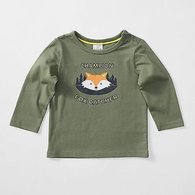 NEW Baby Long Sleeve Fox T-Shirt