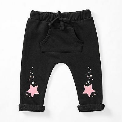 NEW Baby Star Print Trackpants