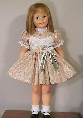 "Beautiful Robyn Pandolph Paisley Floral Dress For 35"" Patti Playpal Doll Clothes"