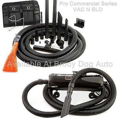 Metro VAC N BLO Car Vacuum 4HP Commercial Series Model Inc 30ft Hose PRO-83BA-CS