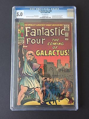 fantastic four #48 CGC 5.0 - First Appearance Silver Surfer