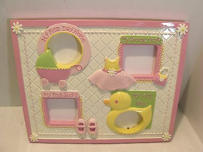 """Baby's First Ceramic Picture Frame 10 1/2"""" X 9"""""""