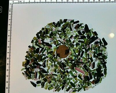 500 Carats of Tourmaline. For wire wrappers or collectors. Nigeria Lot#4