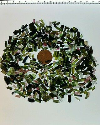 500 Carats of Tourmaline. For wire wrappers or collectors. Nigeria Lot#2