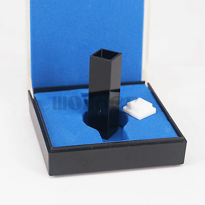 45ul Sub-Micro Fluorescence JGS1 Quartz Cell With Black Walls And Lid