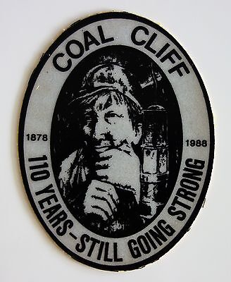 Coal Cliff Mine 110 Years Still Going Strong Mining Sticker