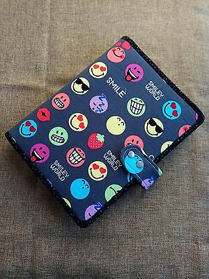 A5 Binder planner smile cover with 6 ring binder notebook handmade