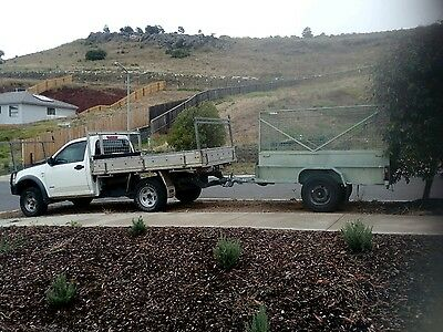 for hire man,ute and trailer