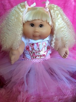Cabbage Patch Kid Tru Edition Girl 20inch Fully Clothed! Crimped Cornsilk Hair!