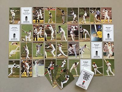 World Series Cricket 1978/79 Collector Cards - Excellent Condition
