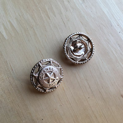 Chanel buttons - Listing for 2 Buttons